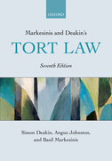 Markesinis and Deakin's Tort Law$