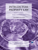 Intellectual Property LawText, Cases, and Materials