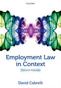 Employment Law in ContextText and Materials