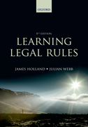 Learning Legal RulesA Students' Guide to Legal Method and Reasoning