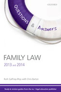 Q & A Revision Guide Family Law 2013 and 2014