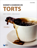 Kidner's Casebook on Torts$