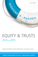 Questions & Answers Equity and Trusts