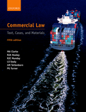 Commercial LawText, Cases, and Materials